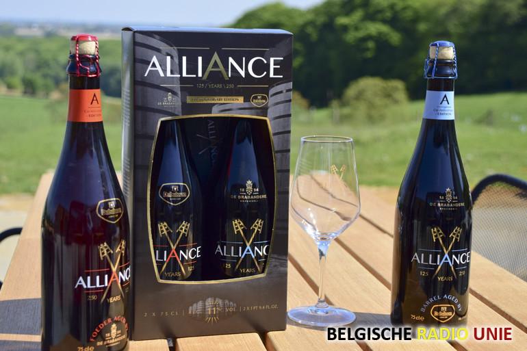 Brouwerij De Brabandere en Brasserie Dubuisson vieren samen 375jaar brouwgeschiedenis met 'Alliance'