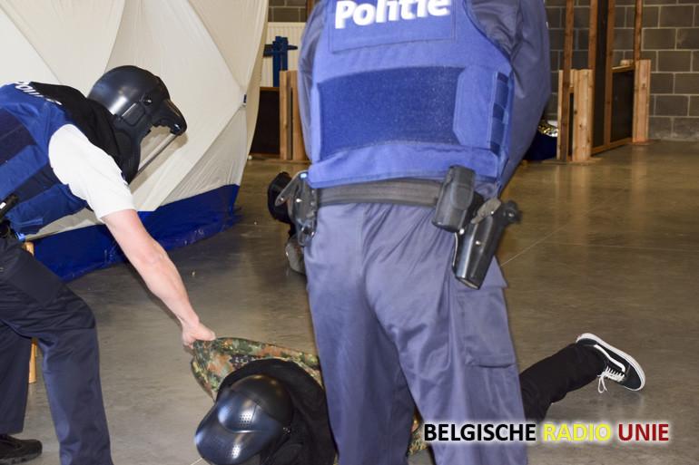 Politie oefening
