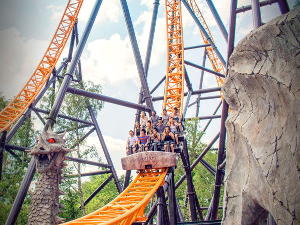 De snelste coaster van de Benelux vind je in Bobbejaanland