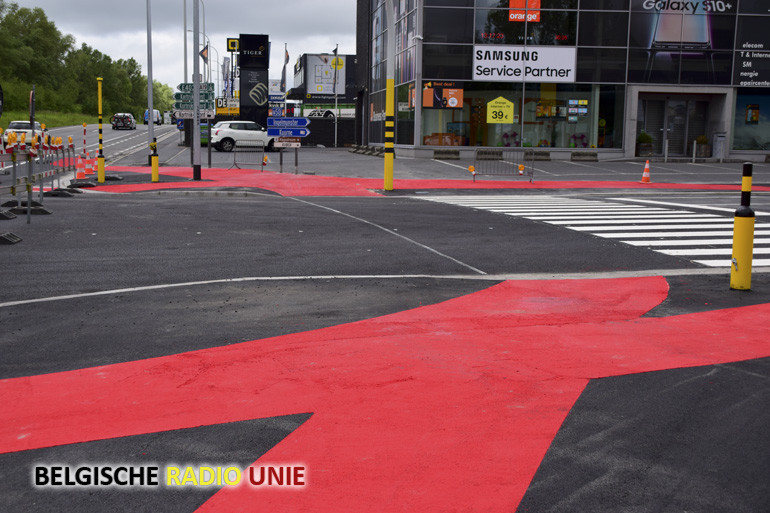 Kruispunt N50 - R8 Kortrijk - Kuurne