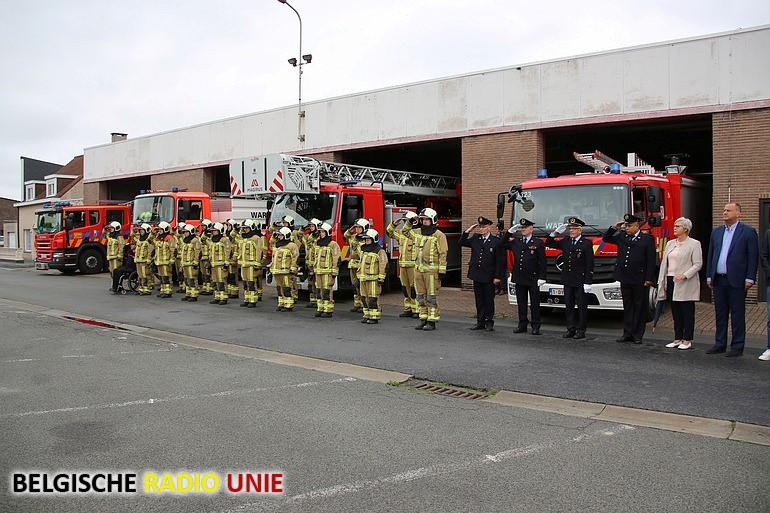 Brandweer Waregem herdenkt overleden collega's