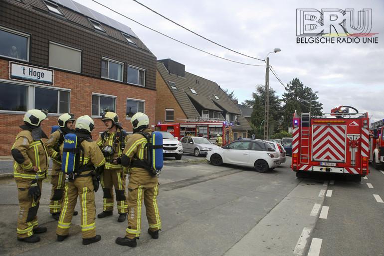 Rookontwikkeling in woon- en zorgcentrum op 't Hoge in Kortrijk