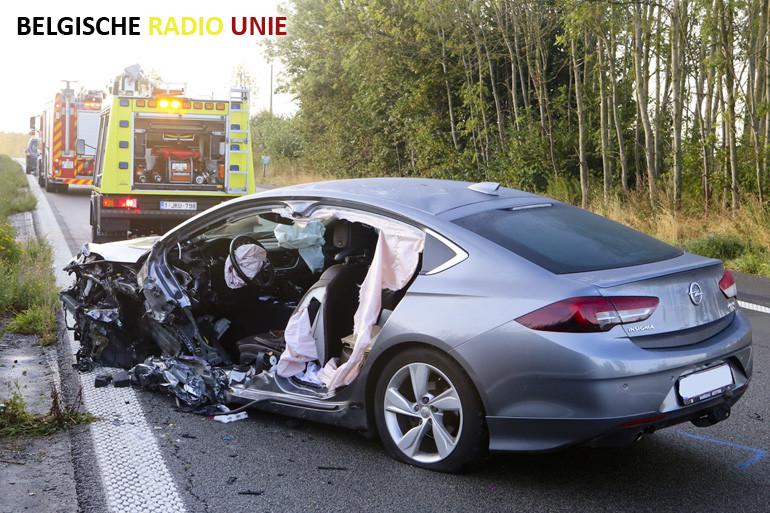 Zwaar ongeval op E403 autosnelweg ter hoogte van Bellegem