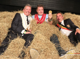 David Claeys wordt de nieuwe Koning Ezel van Kuurne en volgt Sire Olivier op