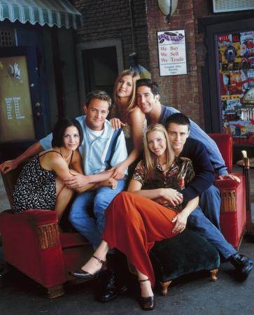 '25 jaar Friends' wordt gevierd in de bioscoop