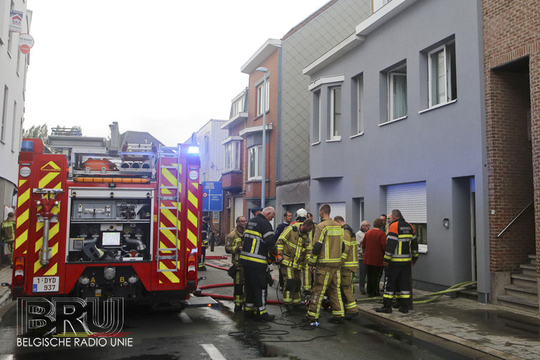 Brand in keuken snel geblust