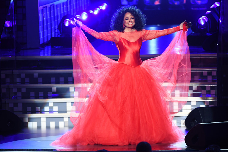 LOS ANGELES, CA - FEBRUARY 10:  Diana Ross performs onstage during the 61st Annual GRAMMY Awards at Staples Center on February 10, 2019 in Los Angeles, California.  (Photo by Kevin Winter/Getty Images for The Recording Academy)