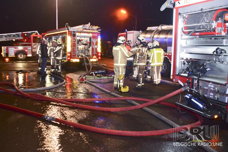 Woning zwaar beschadigd door brand in Geluwe