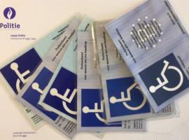 Controle op parkeerkaarten voor mensen met een beperking – 7 van de 15 in overtreding
