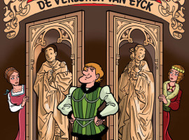 Wedstrijd: Win gratis de strip 'de verloren Van Eyck' van Suske en Wiske