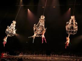 Corteo van Cirque du Soleil in Antwerpen