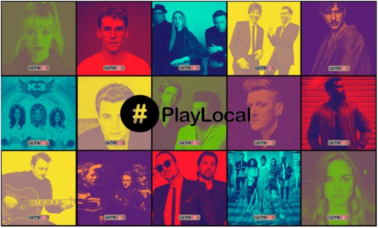 Playlocal Ultratop logo