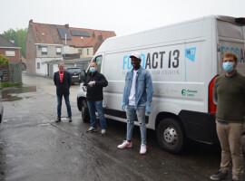 KV Kortrijk schenkt stock frisdrank aan Food Act 13