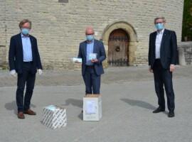 Eerstelijnszone Kortrijk: 650 FFP-mondmaskers van lokale Lions-clubs