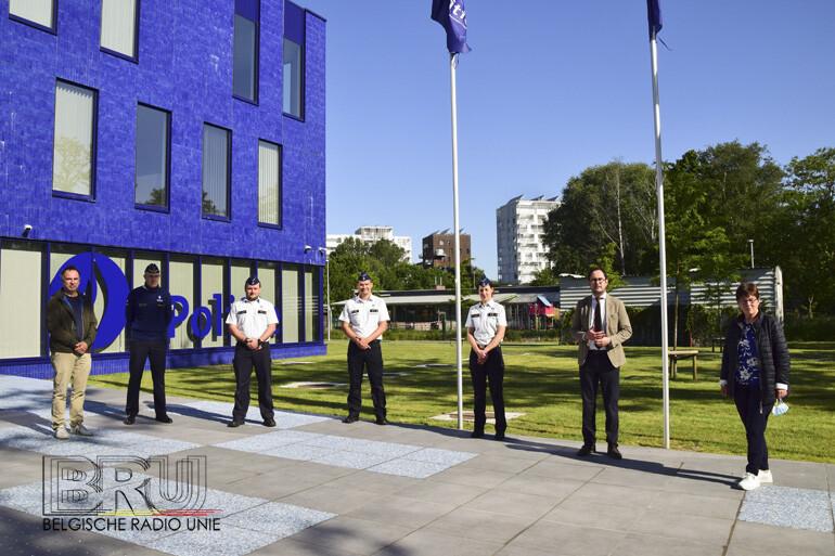 De Politiezone VLAS verwelkomen nieuwe inspecteurs