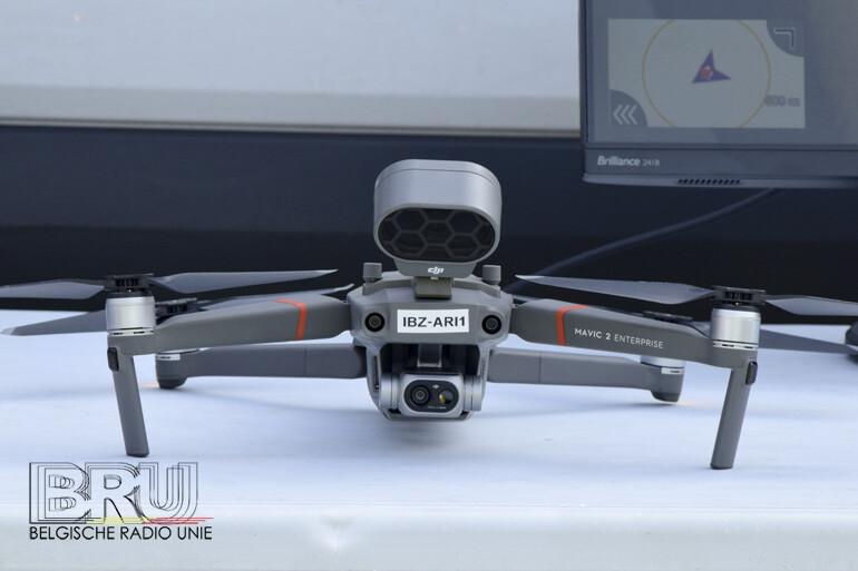 Politiezone Arro Ieper zet eigen aangekochte drone in