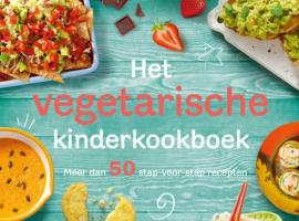 'Het vegetarische kinderkookboek' is nu uit