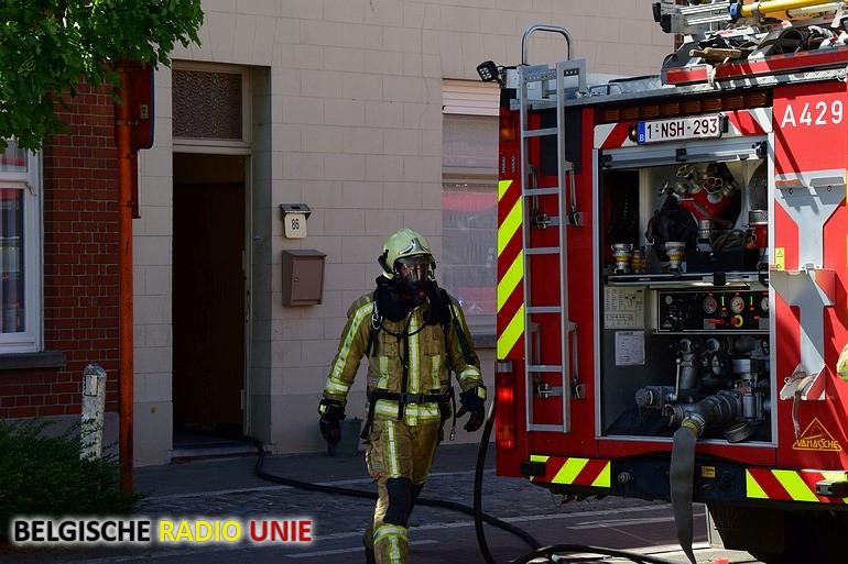 Brand in veranda snel onder controle