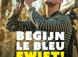 Boek van comedian Begijn Le Bleu over vogels kijken