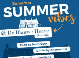 Nieuwe zomerbar op domein 'De Blauwe Hoeve'
