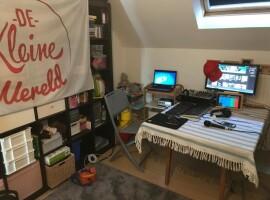 Waregemse Freinetschool De Kleine Wereld maakt radio