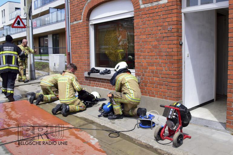 Elektrisch toestel vat vuur in Zonnebeke