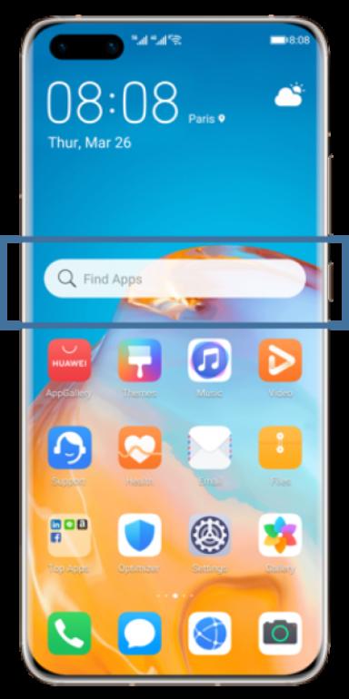 Huawei Find app!