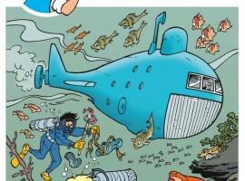 Het 300ste album van Jommeke heet 'De plasticjagers'