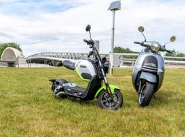 Renties verhuurt nu ook elektrische scooters
