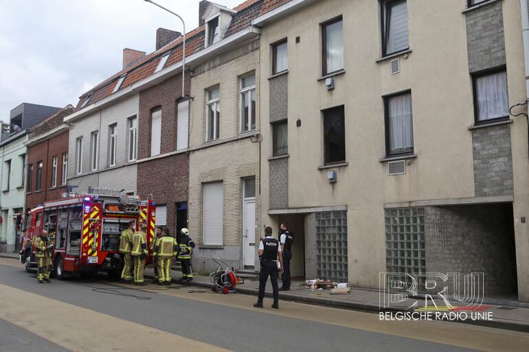 Rookontwikkeling in een flat in Kortrijk na vergeten potje op het vuur