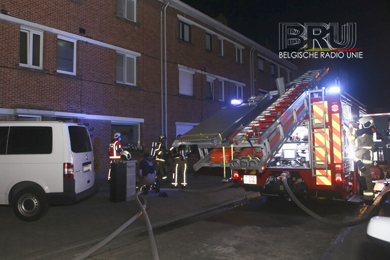 Brand aan achterzijde woning in Bissegem snel geblust