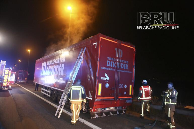 Vermeende vrachtwagenbrand in Rekkem blijkt veroorzaakt door broei
