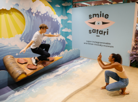 Opening van Instagram & TikTok-museum 'SMILE SAFARI' in Brussel