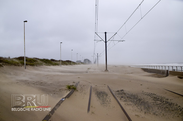 storm odette kustlijn middelkerke oostende