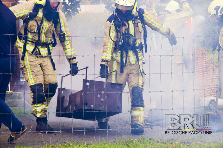 Barbecue zorgt voor brand in Houthulst