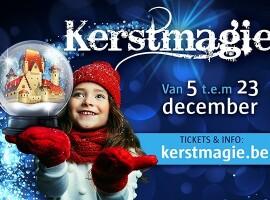 Betoverend audiovisueel spektakel 'Kerstmagie' in zes Vlaamse kastelen