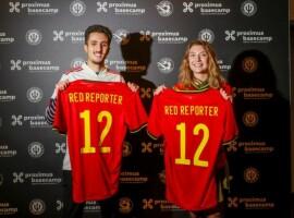 Janne Michels en Amine Serock gekroond tot Belgian Red Reporters