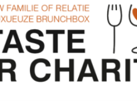 Event 'A Taste For Charity'  wordt een 'Brunch Edition'