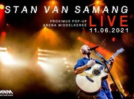 Stan Van Samang opent gloednieuwe pop-up arena in Middelkerke op vrijdag 11 juni 2021