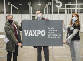 Hal 5 van Kortrijk Xpo wordt vaccinatieplaats voor 70.000 bewoners woonachtig in Kortrijk, Harelbeke en Kuurne