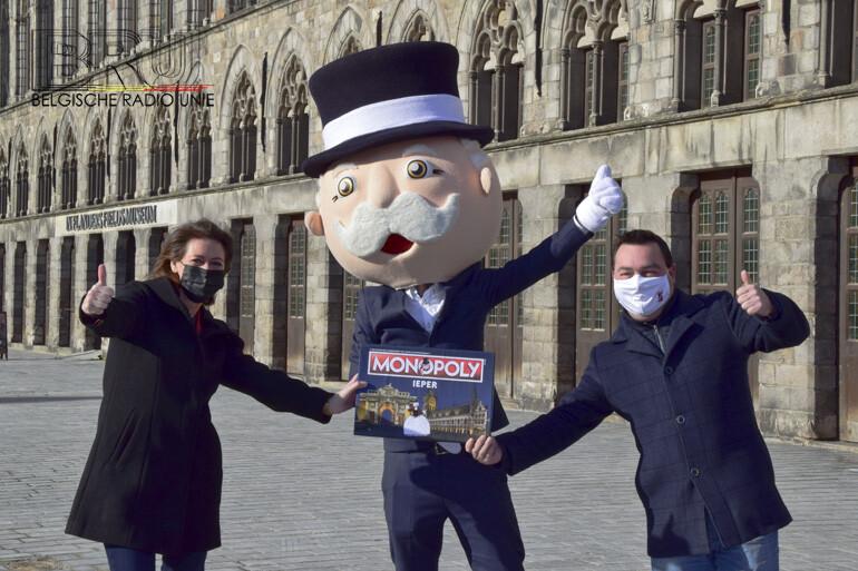 Ieper krijgt een officiële editie van Monopoly