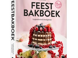Nieuw bakboek van Stefan Elias: FEESTBAKBOEK