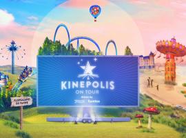 Kinepolis On Tour strijkt neer met drive-in concept in Plopsaland De Panne tijdens de paasvakantie