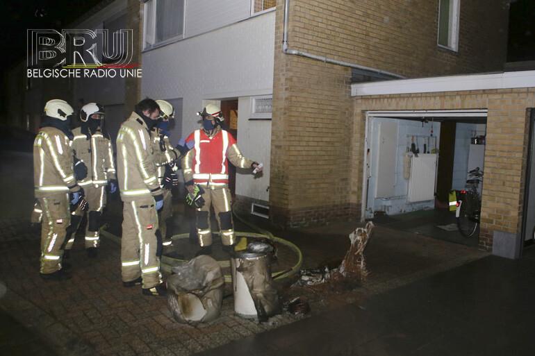 Rookmelder alarmeert bewoonster in Wervik na brand in kelder
