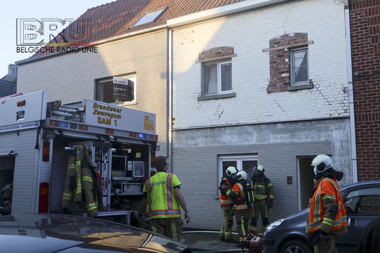Woning onbewoonbaar na brand in Zwevegem, bewoonster en dochter ongedeerd