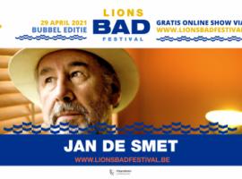 Meezingen met Jan De Smet op Lions BAD Festival