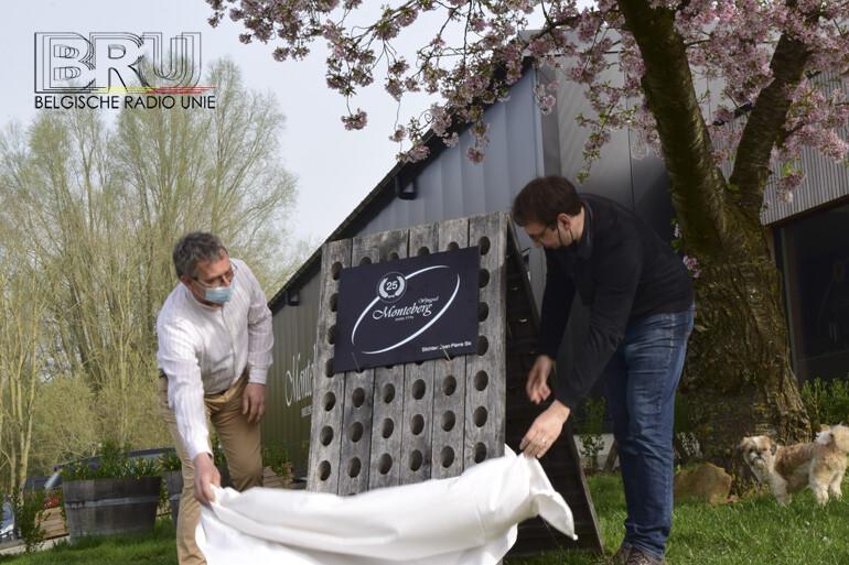 Wijngoed Monteberg viert 25 jaar wijnbouw in Heuvelland