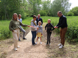 Nieuwe doorsteek geopend naar Vlaspark