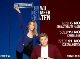 Exclusieve concerten Jaap Reesema & Pommelien Thijs in november
