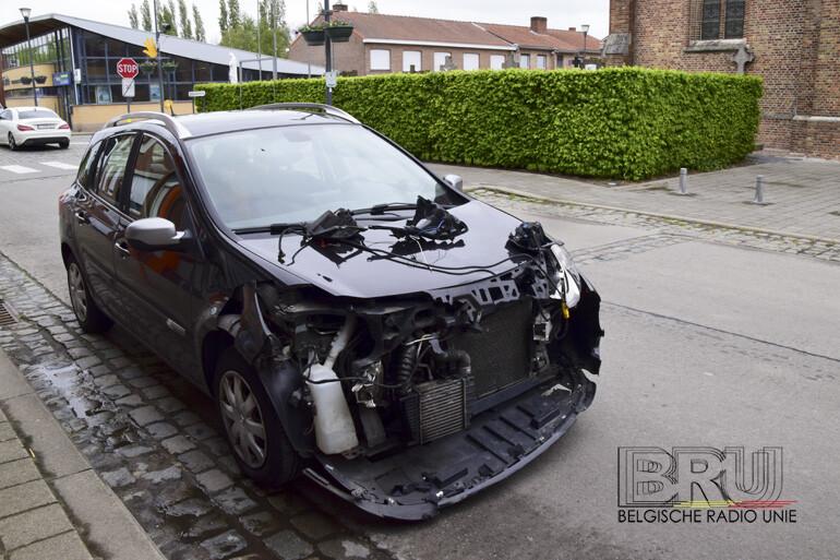 Lichtgewonde bij ongeval in Jonkershove